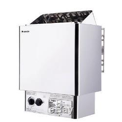 Cuisinière 220v / 380v D'appareil De Chauffage De Sauna Humide Et Sec D'acier Inoxydable 6kw
