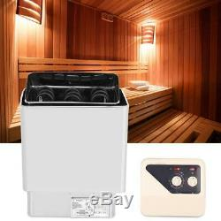 Électrique Sauna Sauna Chauffage Poêle Four Vapeur À Sec Sauna 9-13m³ 6kwith9kw 30-120 ° C