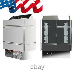 Etats-unis 6kw 240v Sauna Heater Stove Dry Steam Bath Sauna Machine Garantie
