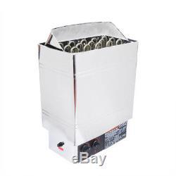 IV Sauna Chauffage Poêle 6kw 8kw 9kw Wet & Dry En Acier Inoxydable Bult En Contrôleur