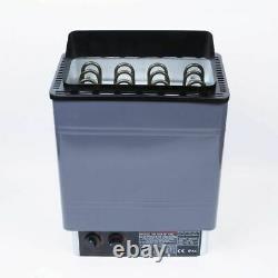 Kay Électrique Sauna Chauffe Poêle Spa 6kw 8kw 9kw Panneau De Commande Externe En Aluminium