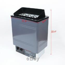 Kk Sauna Chauffage Poêle Humide / Sec Spa 6kw 8kw 9kw Panneau En Aluminium De Contrôle Interne
