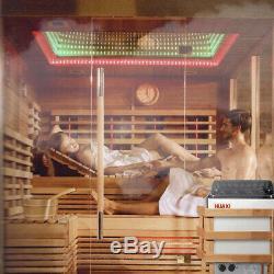 Machine De Chauffage D'appareil De Chauffage De Sauna D'acier Inoxydable De Poêle De Sauna D'équipement De Pièce De Sauna 6w