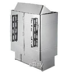 Maison Antirouille Monophasée À Contrôle Interne De Poêle De Chauffage De Sauna 6kw Humide Et Sec