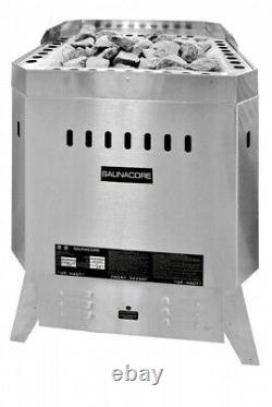 New Saunacore Heater Commercial Standard Poêle 9kw Sauna Heater