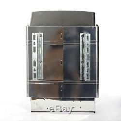 Nouveau 220v 6000w Sauna En Acier Inoxydable Électrique À Sec Chauffage Poêle Adapté 5-9m³ Us