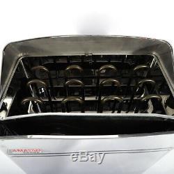 Nouvel Amc60 6kw 27a Poêle Poêle Sauna Spa Spa Salle De Sauna 410 X 280 X 570 MM