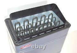 Open Box 9kw Turku Wet & Dry Sauna Heater Stove Contrôleur Numérique Externe