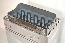 Open Box Turku 4.5kw Electric En Acier Inoxydable Sauna Chauffage Réchaud Con5