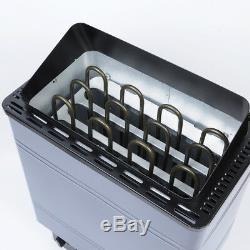 Pas Sauna Chauffage Poêle Humide / Sec Spa 6kw 8kw 9kw Panneau En Aluminium De Contrôle Interne