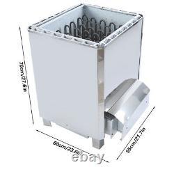 Phase Steam Generator Commande Externe Acier Inoxydable Poêle Chauffage Sauna Outil