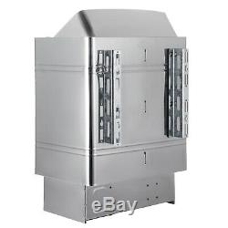 Poêle 9kw Poêle De Chauffage Pour Sauna Et Sèche Contrôle Externe Deux Mode De Fonctionnement Fixation Murale Confortable