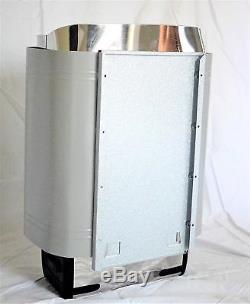 Poêle À Chauffage Électrique 240v 6kw 300 Cuv À Double Capacité De Roche Slim Control