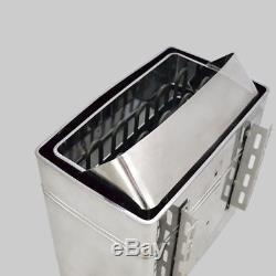 Poêle De Chauffage 220v 6kw Sauna Electrique En Inox Wet & Dry