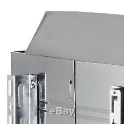 Poêle De Chauffage Au Sauna 9kw, Contrôle Externe, Acier Inoxydable, Numérique
