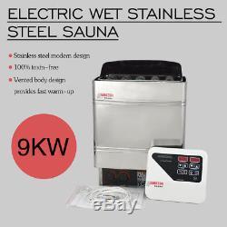 Poêle De Chauffage De Sauna 220v 9kw Avec Contrôleur Numérique Sauna Saunaofen Wet And Dry
