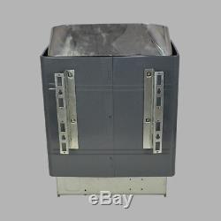 Poêle De Chauffage De Sauna 9kw 220v & Contrôleur Numérique Externe Couche De Revêtement De Galvanisation