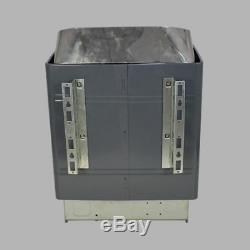 Poêle De Chauffage De Sauna 9kw Avec Contrôleur Numérique Externe, Galvanisation À Sec Et À Sec