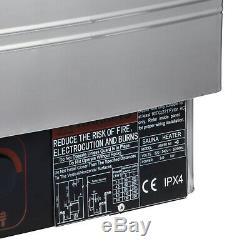 Poêle De Chauffage Électrique Pour Poêles À Sec Et Électriques Pour Sauna, Acier Inoxydable 9kw