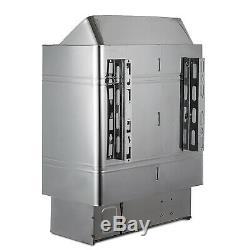 Poêle De Chauffage Intérieur En Acier Inoxydable Pour Sauna, Système De Contrôle Interne Humide Et Sec 3kw