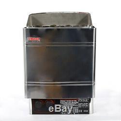 Poêle De Contrôleur De Chauffage Extérieur Amc60 Pour Sauna, Acier Inoxydable 410 X 280 X 570 MM