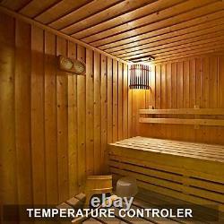 Poêle Électrique De Réchauffeur De Sauna 6kw 240v Poêle De Chauffage De Sauna En Acier Inoxydable Sec