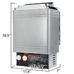 Poêle Électrique Sauna Chauffage Sec Sauna Poêle En Acier Inoxydable 2kw Contrôle Interne