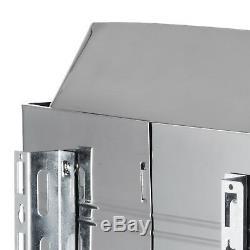 Poêle En Acier Inoxydable De Poêle De Sauna 9kw, Contrôleur Numérique Humide Et Sec 220v