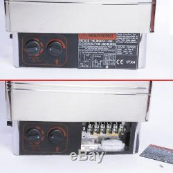 Pp Sauna Chauffage Poêle Spa 6kw 8kw Extérieur 9kw En Acier Inoxydable Contrôleur Numérique