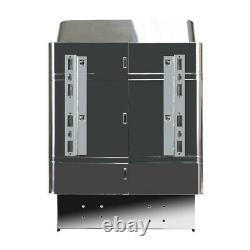 Pro Sauna Heater Stove Poêle Sec Acier Inoxydable 9kw 240v Contrôle Interne USA