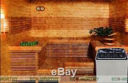 Réchauffeur Électrique De Fourneau De Sauna De 6kw Automatique 110v Et De 220v / 380v + Contrôleur Externe Pour La Station Thermale