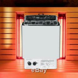 Sauna Chauffage Cuisinière Chauffage Contrôle De La Température En Acier Inoxydable Accueil Spa 220-380v