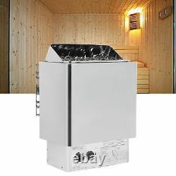 Sauna Chauffage Poêle 4,5 -9 Kw Sauna Poêle Avec Contrôle Interne En Acier Inoxydable