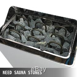 Sauna Chauffage Poêle 9kw Sauna Sec Cuisinière De Contrôle Interne En Aluminium Boîtier En Alliage 220 V