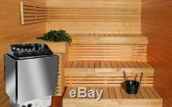 Sauna Chauffage Poêle Douche De Bain Humide Et Sèche Spa Contrôle Interne En Acier Inoxydable