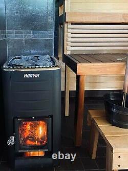 Sauna Heater Harvia M2 16.5 Kw Poêle Finlandais À Bois Pour Chambres 6 13 M3
