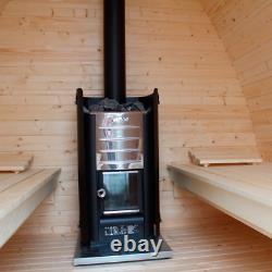 Sauna Heater Harvia M3 16.5 Kw Poêle Finlandais À Bois Pour Chambres 6 13 M3