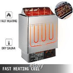 Sauna Heater Stove 6kw 220v Sauna Stove Commercial Home Spa Contrôleur Interne