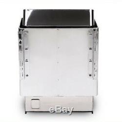 Sec En Acier Inoxydable 6kw 110v Sauna Poele Spa / Extérieur Contrôleur Numérique