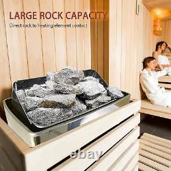 Surmountway Sauna Heater 6kw Bain À Vapeur Sec Sauna Heater Poêle 220v-240v Avec