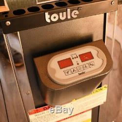 Toule 9 Kw Humide Etl Poele Sec Pour Chauffage Spa Sauna Contrôleur Numérique