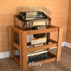 Toule Wet Dry Heater Stove 4.5 Kw Etl Pour Spa Sauna Room Avec Contrôleur Numérique