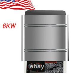 U Internel 6kw 240v Sauna Heater Stove Dry Steam Bath Sauna Machine F Home Hotel