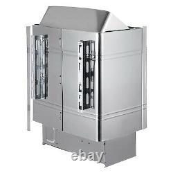 Us 2/3/6/9kw Wet&dry Sauna Heater Stove Commercial Home Spa Contrôleur Interne
