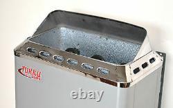 Utilisé Compact 120v Wet & Dry Turku Sauna Chauffage Réchaud Contrôleur Intégré