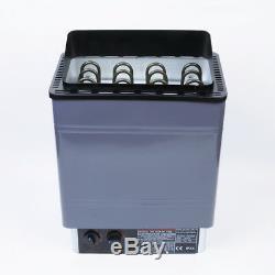 VIC Sauna Chauffage Poêle Humide / Sec Spa 6kw 8kw 9kw Panneau En Aluminium De Contrôle Interne