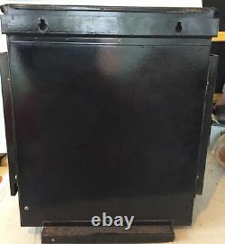 Vintage Rare Helo-usines Ltd Sauna Heater Stone Stove Modèle Ykaa7 Avec Pierre
